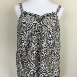 Silk Paisley Tank from Banana Republic